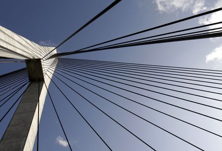 pylon: Anzac Bridge Pylon, Sydney, Australia Editorial