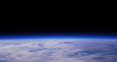 Planet Earth From A Low Orbit Space View, Background Stock Photo - 1787455