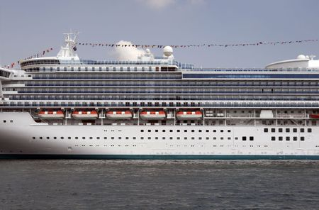 Large Cruise Ship At Circular Quay In Sydney Harbour, Australia Stock Photo - 1787472
