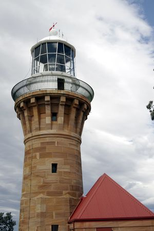 Lighthouse Brick Tower And Building In Sydney, Australia photo