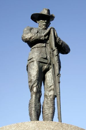 anzac: Soldier Statue, Australian New Zealand Army Corps, Sydney Stock Photo