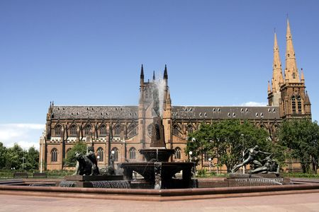 mary's: St Mary�s Cathedral, Sydney, Australia - Seat of the Roman Catholic Archbishop of Sydney