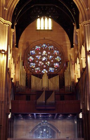 mary's: Interior Of St. Marys Cathedral In Sydney, Australia Editorial