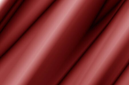 satin round: Red Fabric Curtain With Waves, Abstract, Background