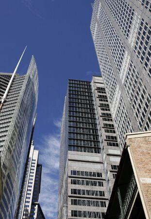 Modern Urban Office Building In Sydney, Glass Facade, Australia
