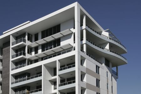 high rise buildings: Modern Urban Apartment Building In Sydney, Australia