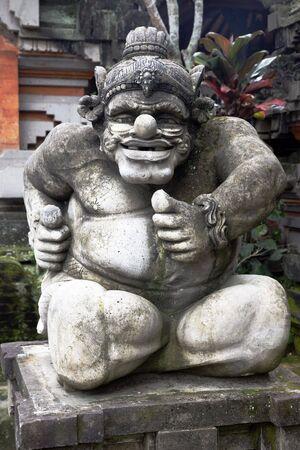 Old Stone Statue, Religious Bali Sculpture, Indonesia