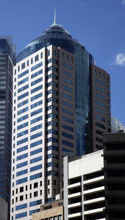 Tall High Rise Urban Office Building In Sydney, Australia