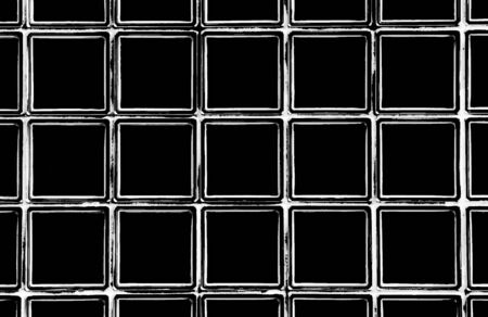 Black And White Square Window Frames - Grunge Style Background