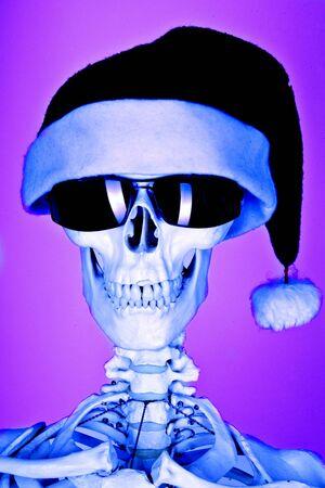 evil santa photo