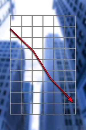 sales bank: stock exchange Stock Photo
