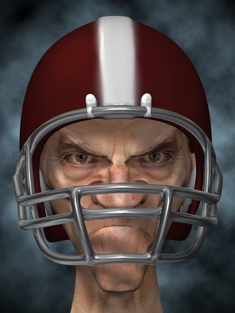 dirty football: old dirty football player