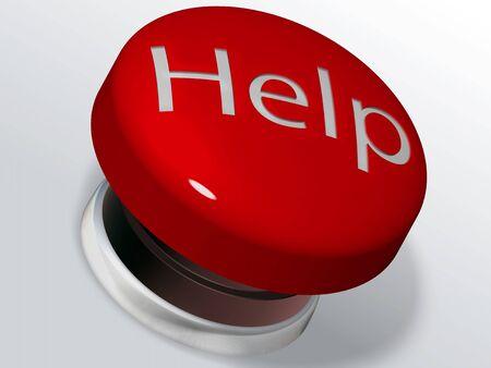 alarm button: help button for customer service