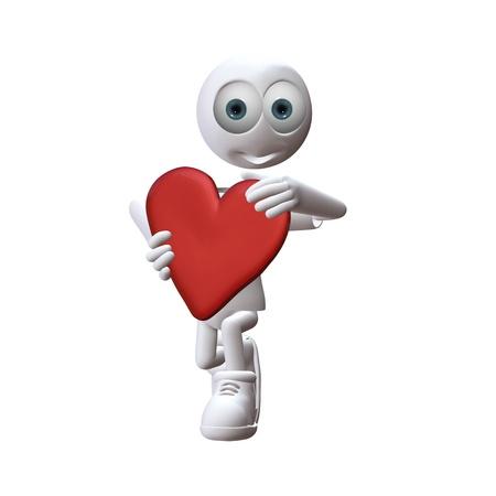 life partner: fall in love with ziggy zeitgeist Stock Photo
