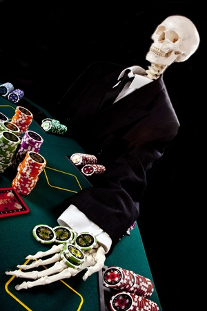gambling with your life Stock Photo - 10495356