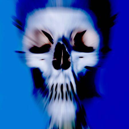 eyes cave: arty skull