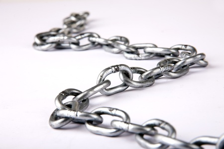 in ketten: Eisenkette