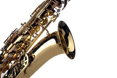 blues music: saxophone Stock Photo