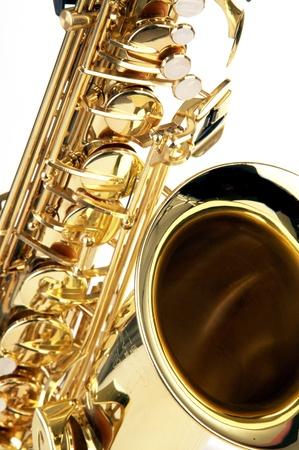 musical instrument: saxophone Stock Photo
