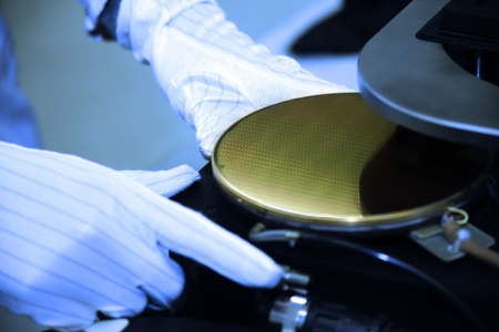 silicio: equipo de tecnología de chips