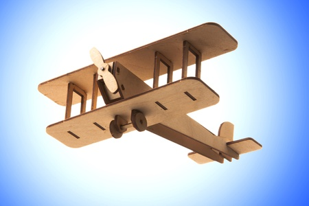balsa: toy airplane