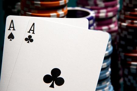 Poker gambling photo
