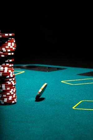 Poker gambling Stock Photo