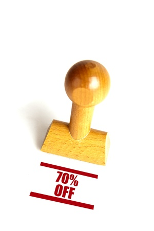 spoiling: 70 percent off