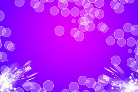 radio active: bokeh backround purple Stock Photo