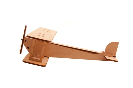 balsa: vliegtuig speelgoed Stockfoto