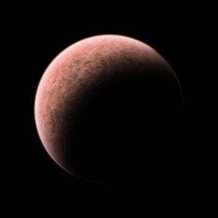 brownish: planet brownish Stock Photo