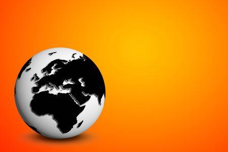 internet globe  photo