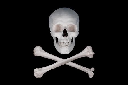 drapeau pirate: poison pirate Banque d'images