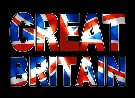 bandera de gran bretaña: gran bretaña vibrante
