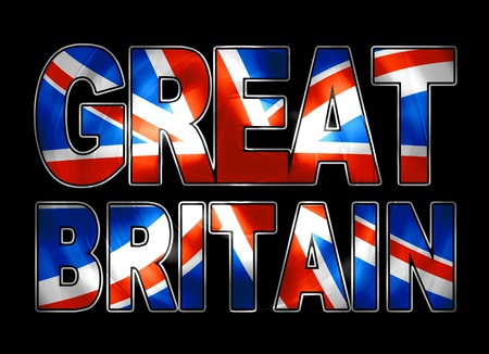 backround: great britain vibrant Stock Photo