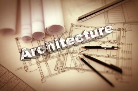 architecture 3d typo