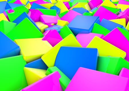 speck: modern abstract color and shape design background wallpaper