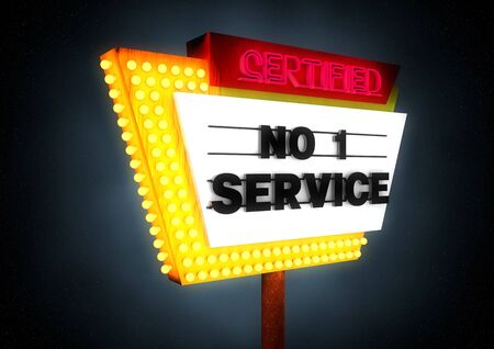 commercialization: certified number one service