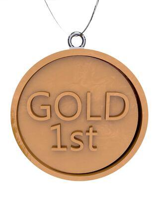 primer lugar: Medalla de Oro N�mero Uno Primer Lugar