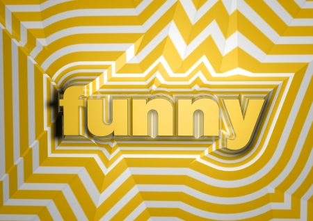 entertaining: funny abstract text background Stock Photo