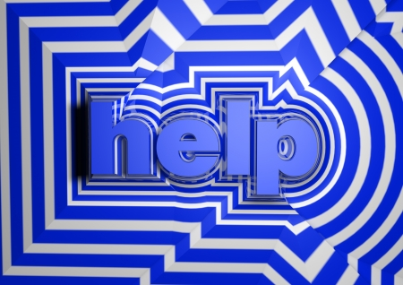 help abstract text background Stock Photo - 15036561