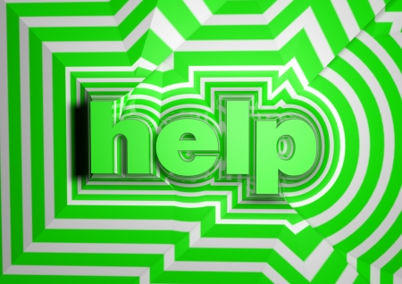 help abstract text background Stock Photo - 15033748