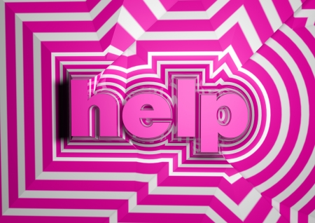 help abstract text background Stock Photo - 15034083