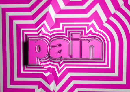 harm: pain abstract text background