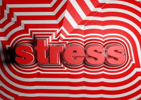 aggressiveness: stress abstract text background