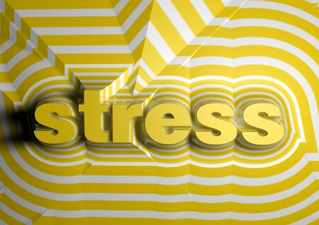 burnout: stress abstract text background