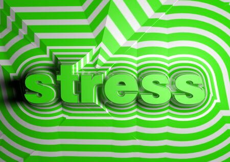 exasperation: stress abstract text background