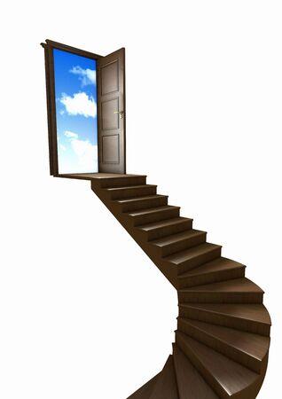 haciendo el amor: Escalera al cielo