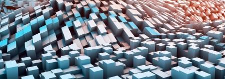 virtual world: Virtual World with Digital Streams of Data  Stock Photo