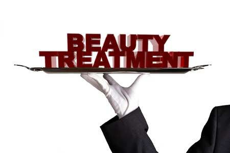 First Class Beauty Treatment Stock Photo - 15024800